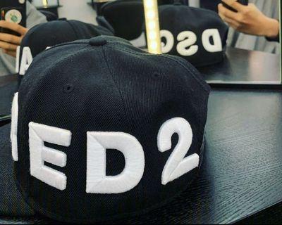 DSQUARED 2 經典logo刺繡 帽子 棒球帽 正品
