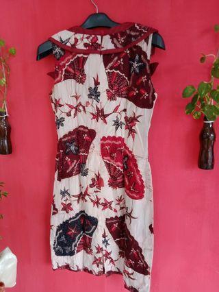 Dress batik#mauliburan#visitsingapore