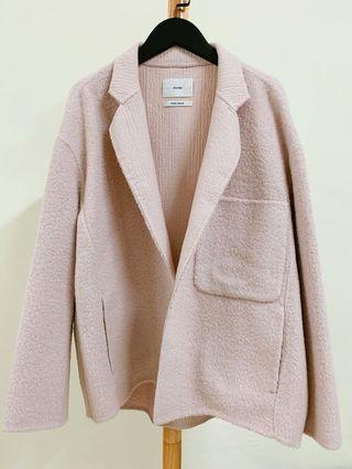 韓貨 🇰🇷 CP值超高手工羊毛大衣 -👶🏻寶寶粉 -