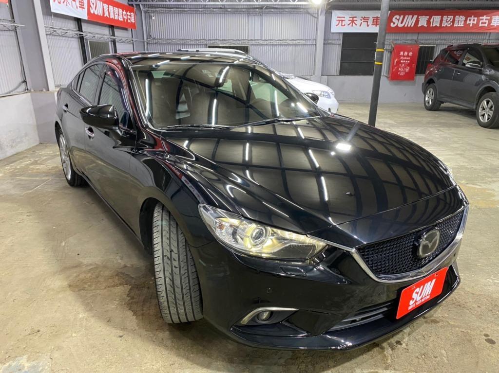 🔥魂動系列登場! 正2014年 Mazda6 SKY-D頂級型