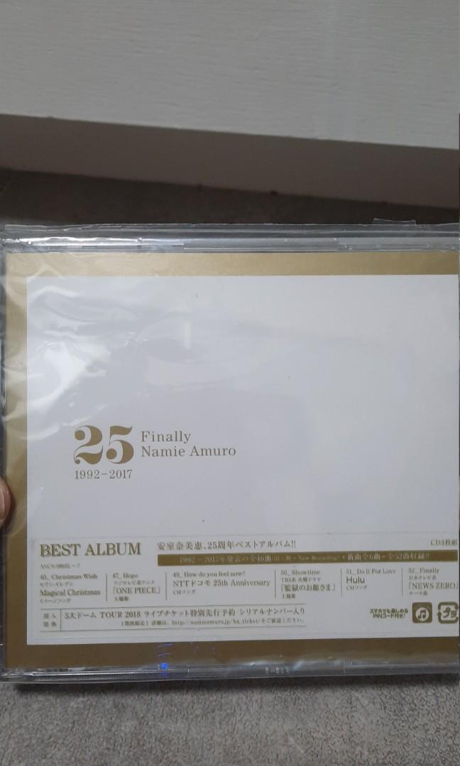 安室奈美惠 finally CD
