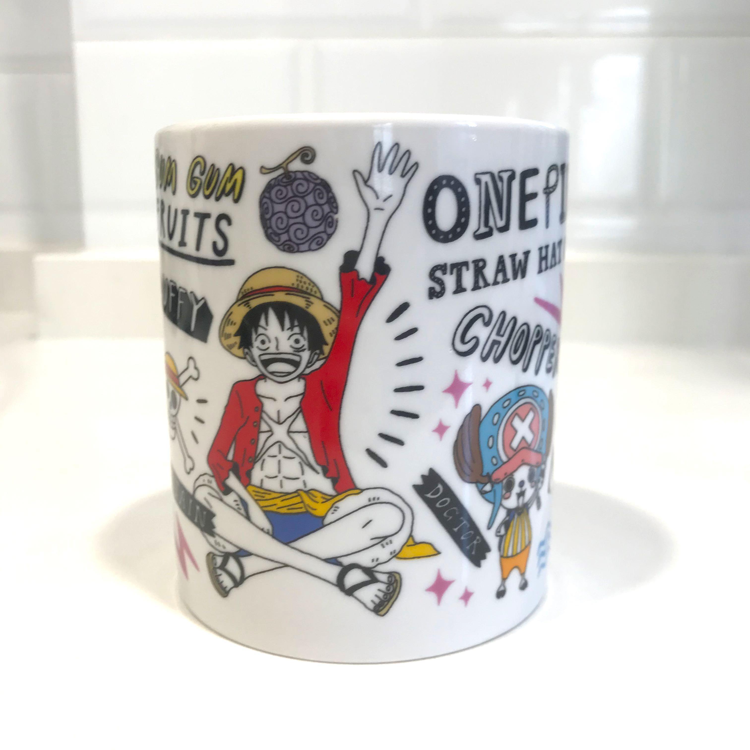海賊王 One piece 水杯 Coffee Mug Cup  #CentralGaifong