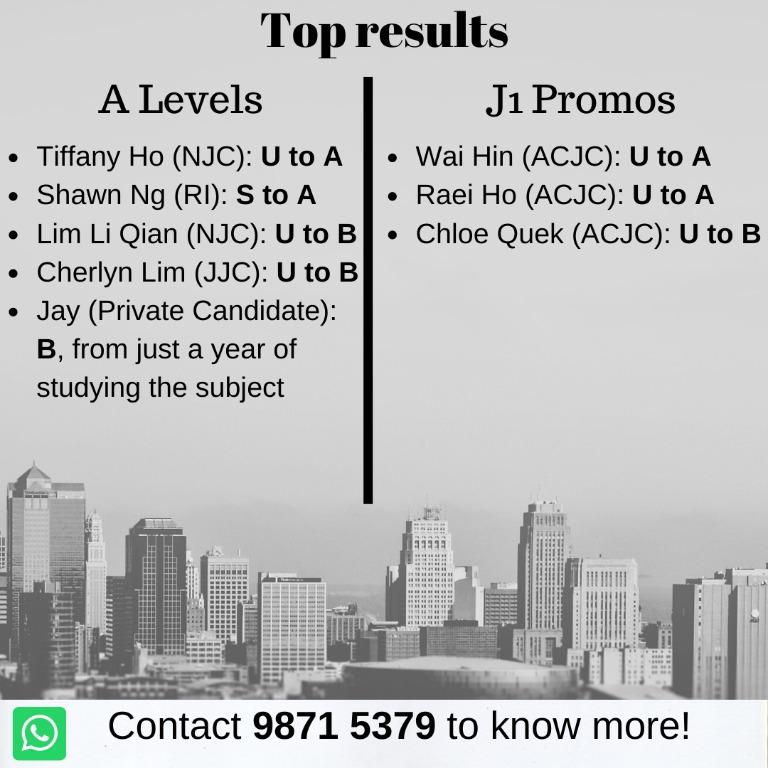 Affordable Economics tuition by TOP tutor (PROVEN RESULTS)