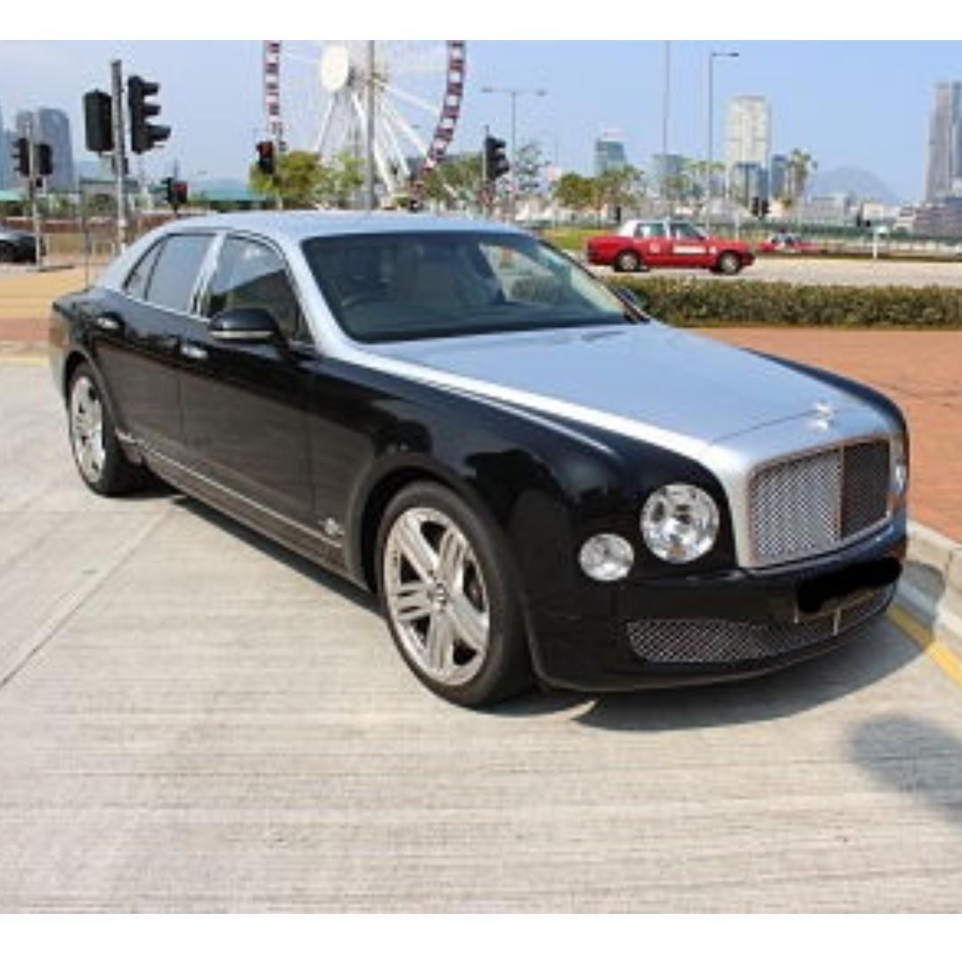 BENTLEY MULSANNE V8 2012