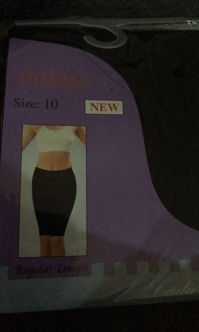 Black shorts tights biker shorts NEW SIZE 8 and 10 available