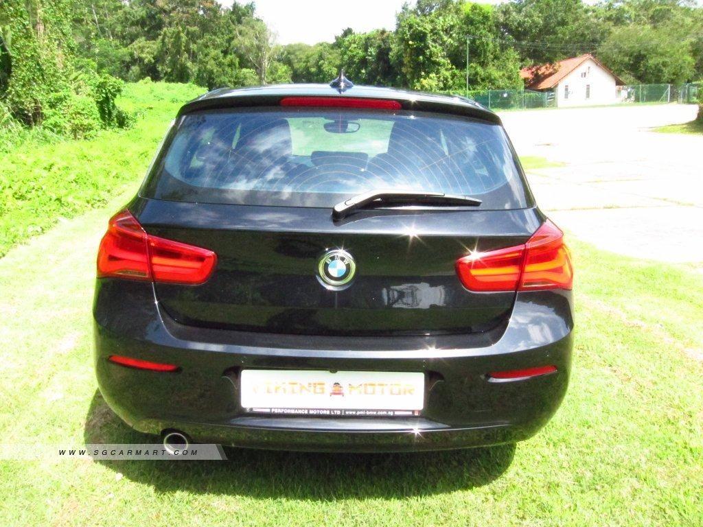 BMW 1 Series 116d 5-Dr Auto