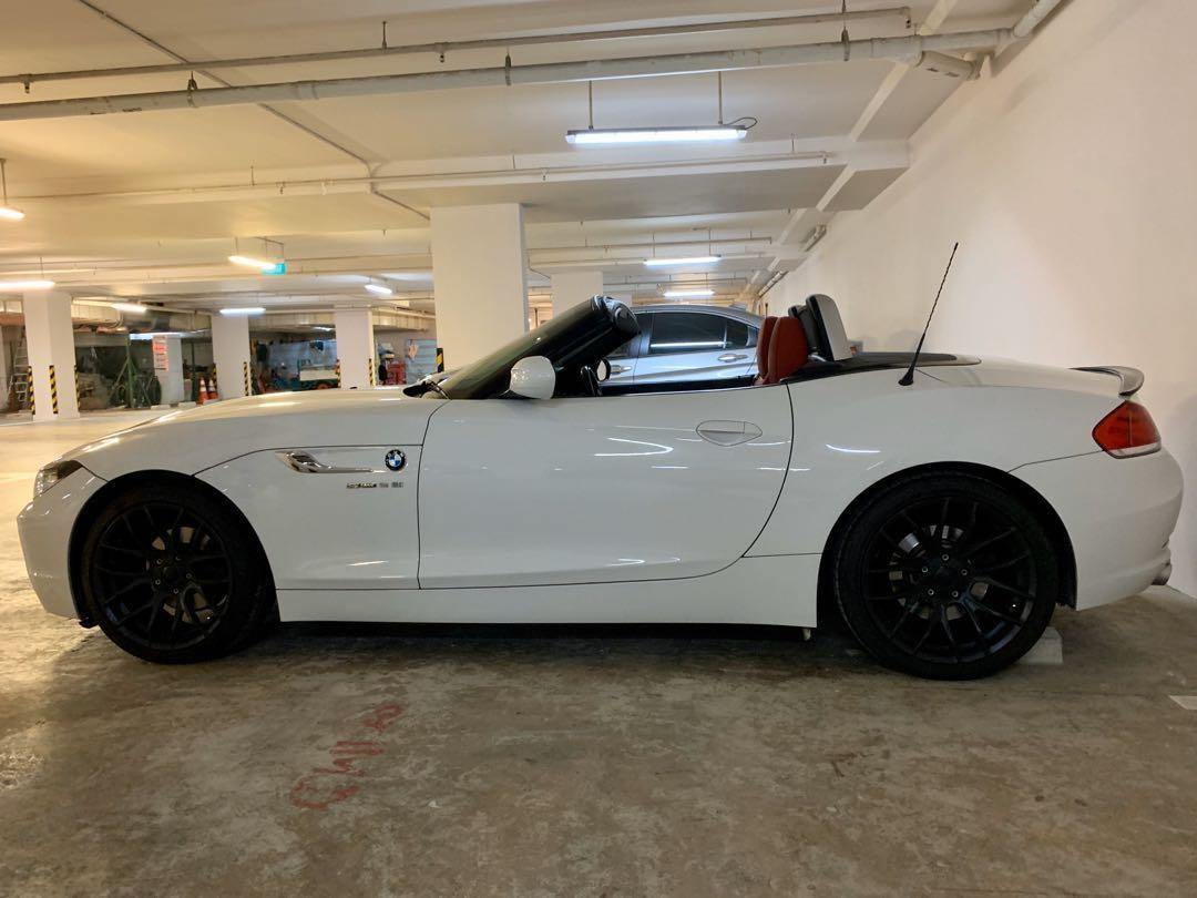 BMW Z4 convertible for photo shoot, event or wedding rental