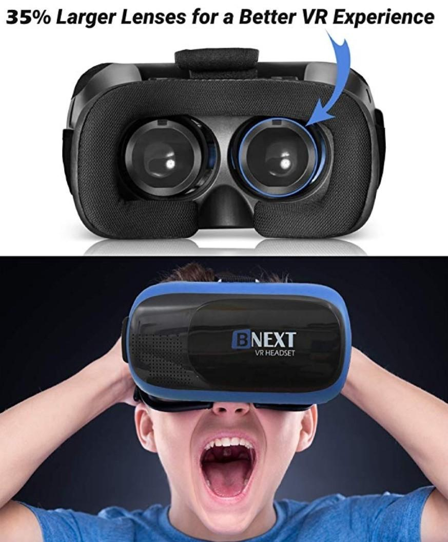 BNEXT 3D VR Glasses Headset Universal Virtual Reality Goggles
