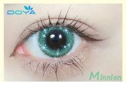 (set) Doya green contact Lens minnion 010 cosplay contact lens