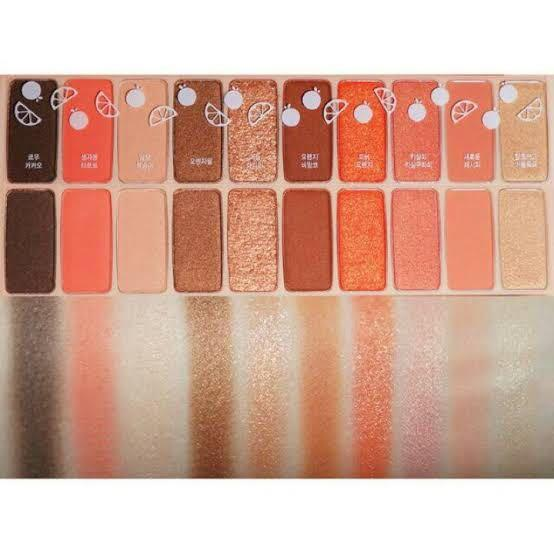 Etude House Play Color Eyes Juice Bar eyeshadow palette