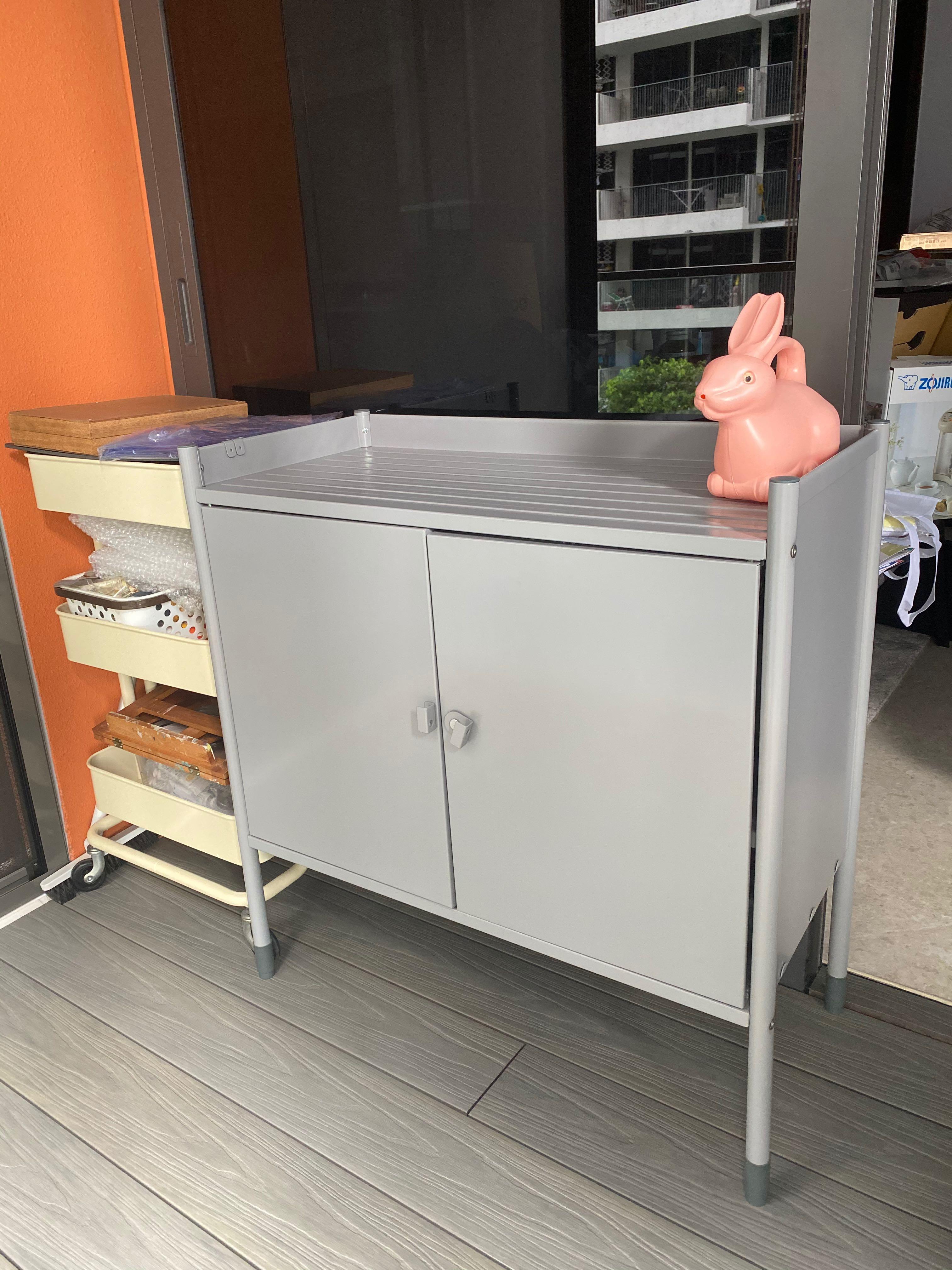 Ikea Hindo Outdoor Cabinet Storage, Outdoor Storage Cabinets Waterproof Ikea