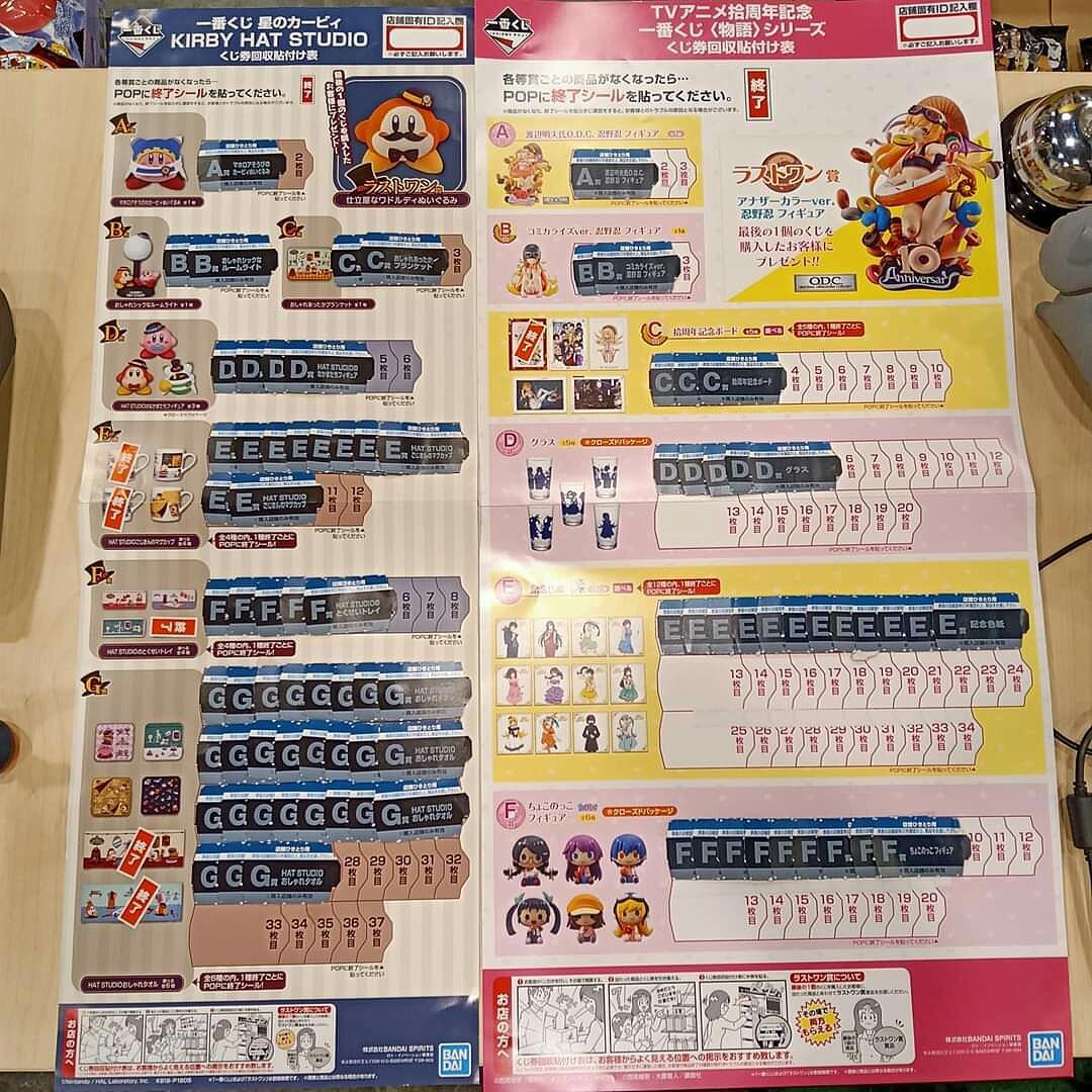 [INFO] Ichiban Kuji MONOGATARI series 10th Anniversary @ Oh! Gatcha