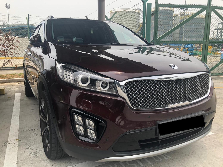 Kia Sorento 2.2 CRDI SX Auto