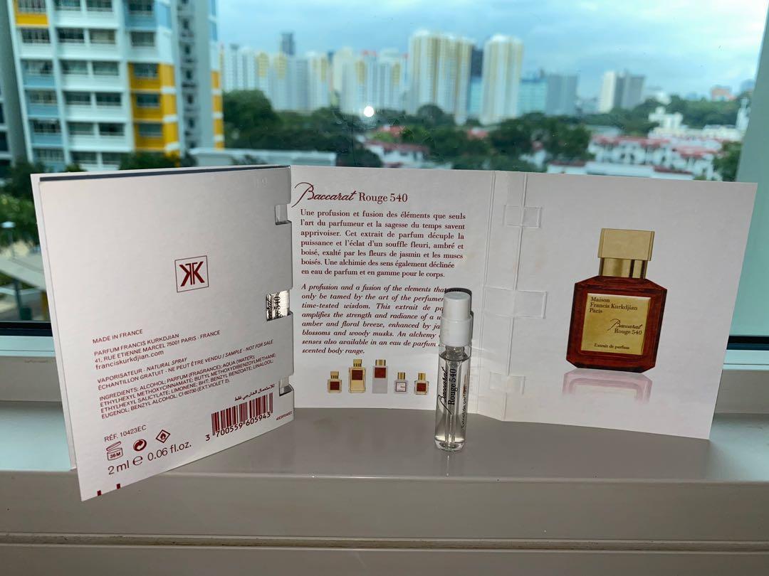 Maison Francis Kurkdjian Baccarat Rouge 200 Extrait de parfum 20ml ...