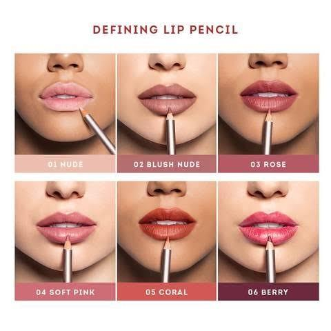 Nude By Nature Natural Illusion Defining Lip Liner Lipstick Pencil