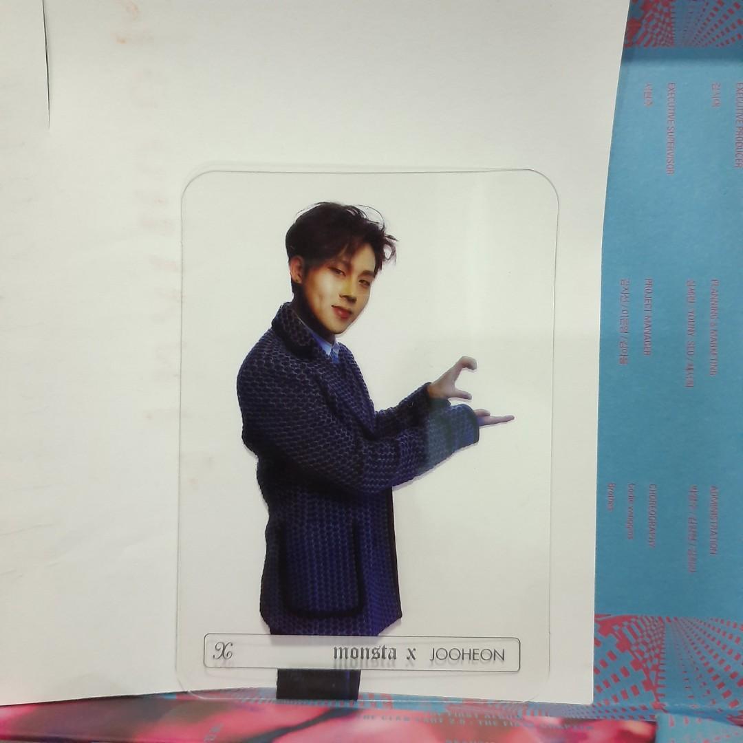 OFFICIAL MONSTA X Hyungwon & Jooheon Transparent PC