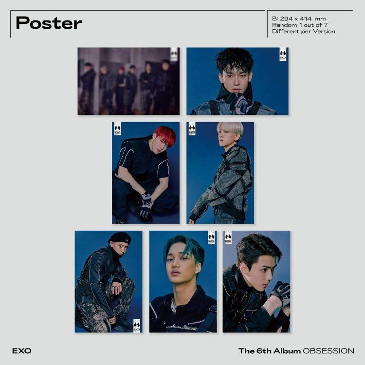 PREORDER |EXO - VOL.6 [OBSESSION] (OBSESSION VER.)