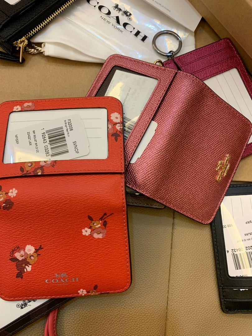 Ready Stock Prefect Chirstmas gift coach lanyard card holder wallet Michael kors wristlet watch Tory Burch bag listing