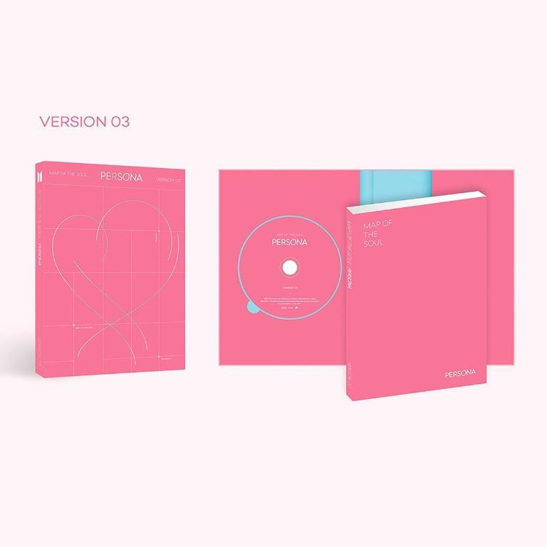 [Ready Stock/Sealed] BTS Map of the Soul : Persona Album CD+Poster