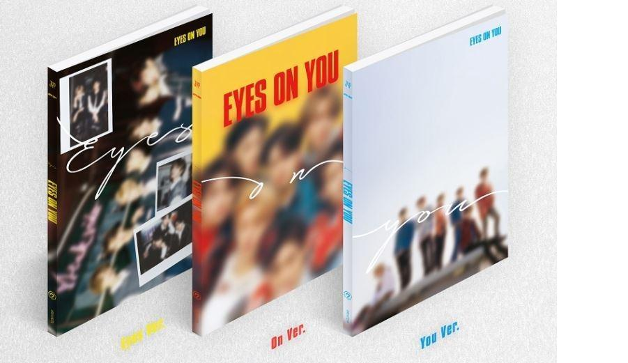 [Ready Stock/Sealed]GOT7 Mini Album - Eyes On You(Eye Ver) CD + Poster /Lookbook