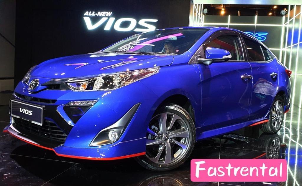 Toyota Vios 1.5 CTV 2019