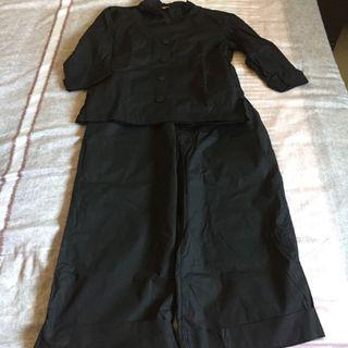 Holly chill 黑色微正式套裝