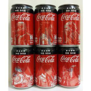 星際大戰 可口可樂一套6瓶
