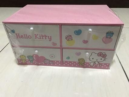 正版Holle kitty收納置物盒 櫃子