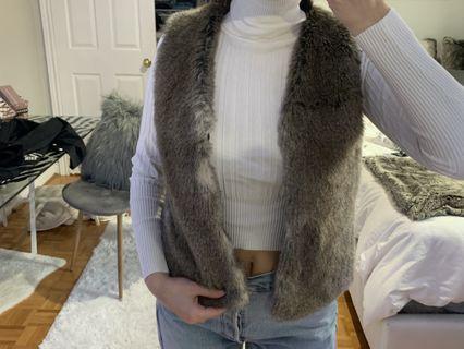 TALULA fur vest