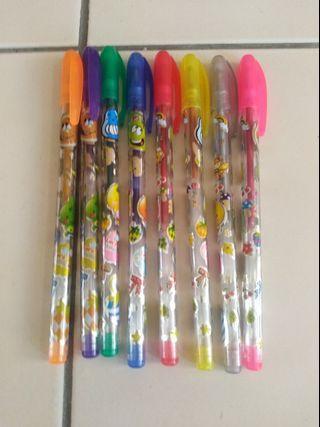 彩色原子筆