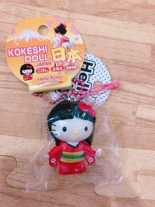 日本木偶kitty吊飾