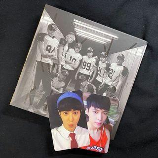 EXO 改版專 LOVE ME RIGHT 韓文版 全專 小卡 海報