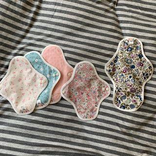 全新)hannahpad布衛生棉 護墊 小型 中型