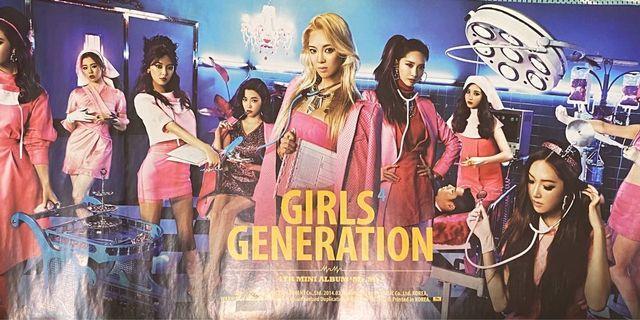 少女時代 Girls' Generation SNSD Mr.Mr. 官方專輯海報
