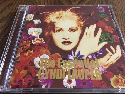 [老搖滾典藏] Cyndi Lauper-The Essential 日版「世紀典藏」精選輯,音質超優! 台灣未見