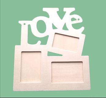 Wooden Photo Frame - Love / Proposal / Anniversary