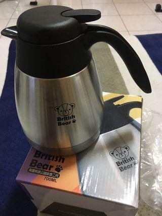 英國熊辦公咖啡壺