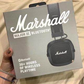 全新原價5990 Marshall藍芽無線耳機 major3