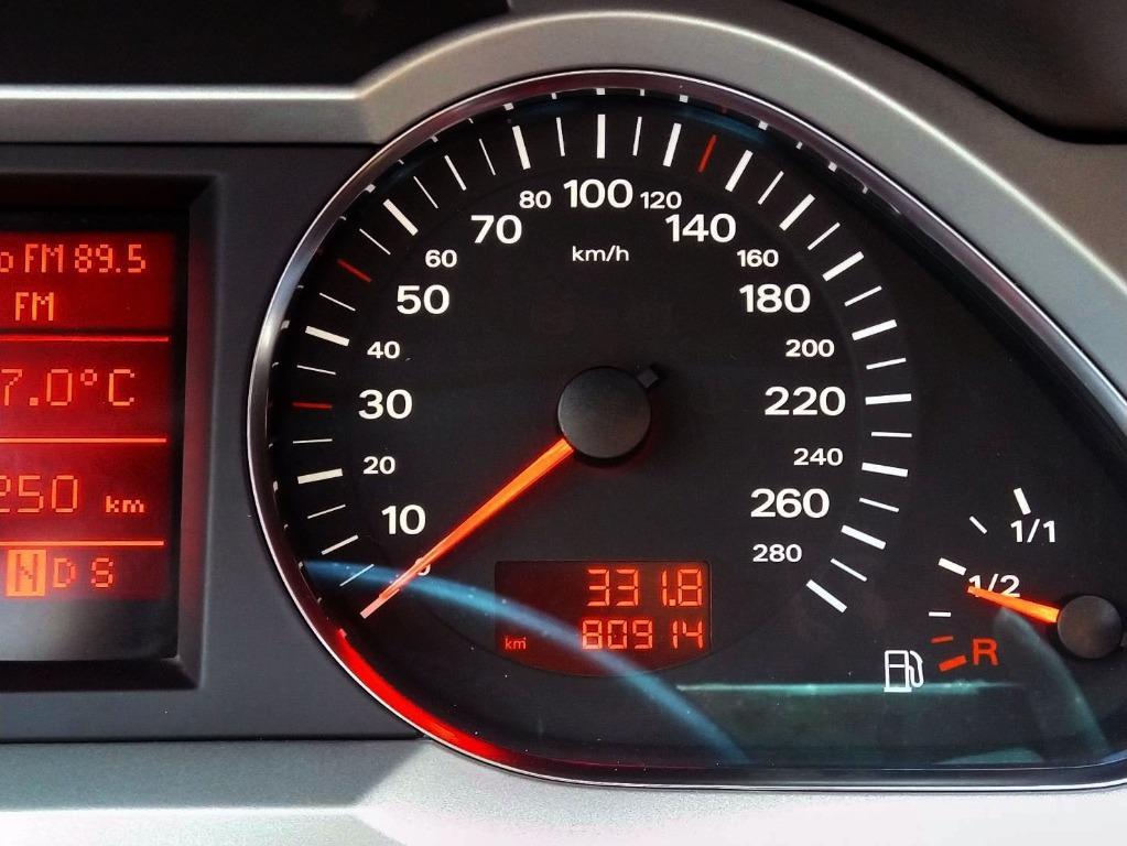 A6 渦輪TFSI 僅跑8萬 柴油車 超級省油 內外超級漂亮