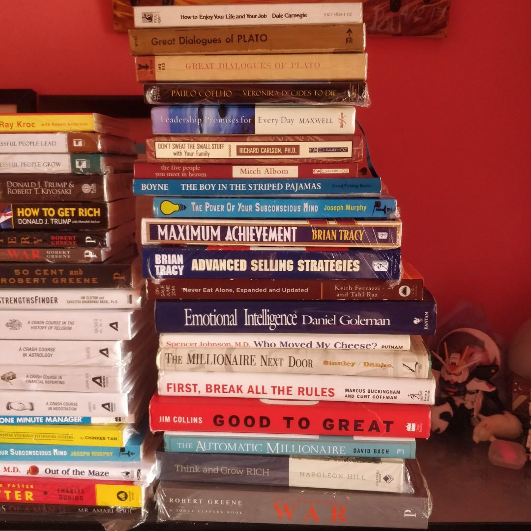 BARGAIN leadership, management, business, financial literacy, self help, self development books