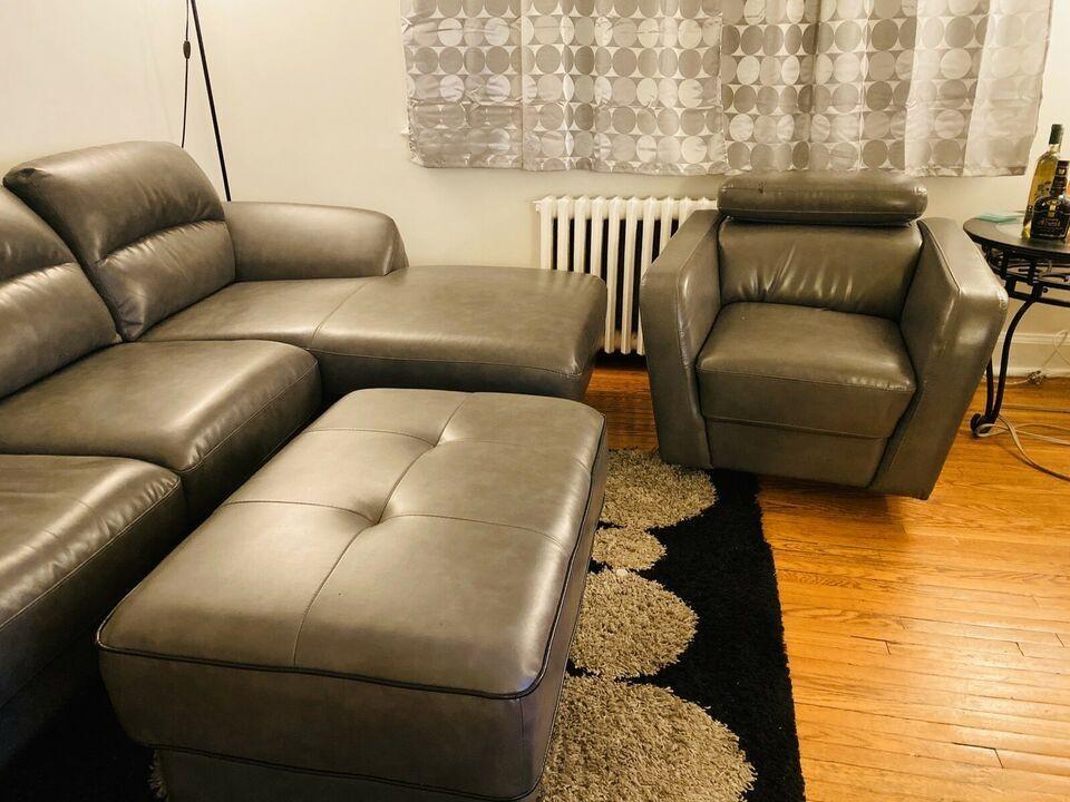 Beautiful Sectional Sofa set (L Shape, Chairs, Leg rest)