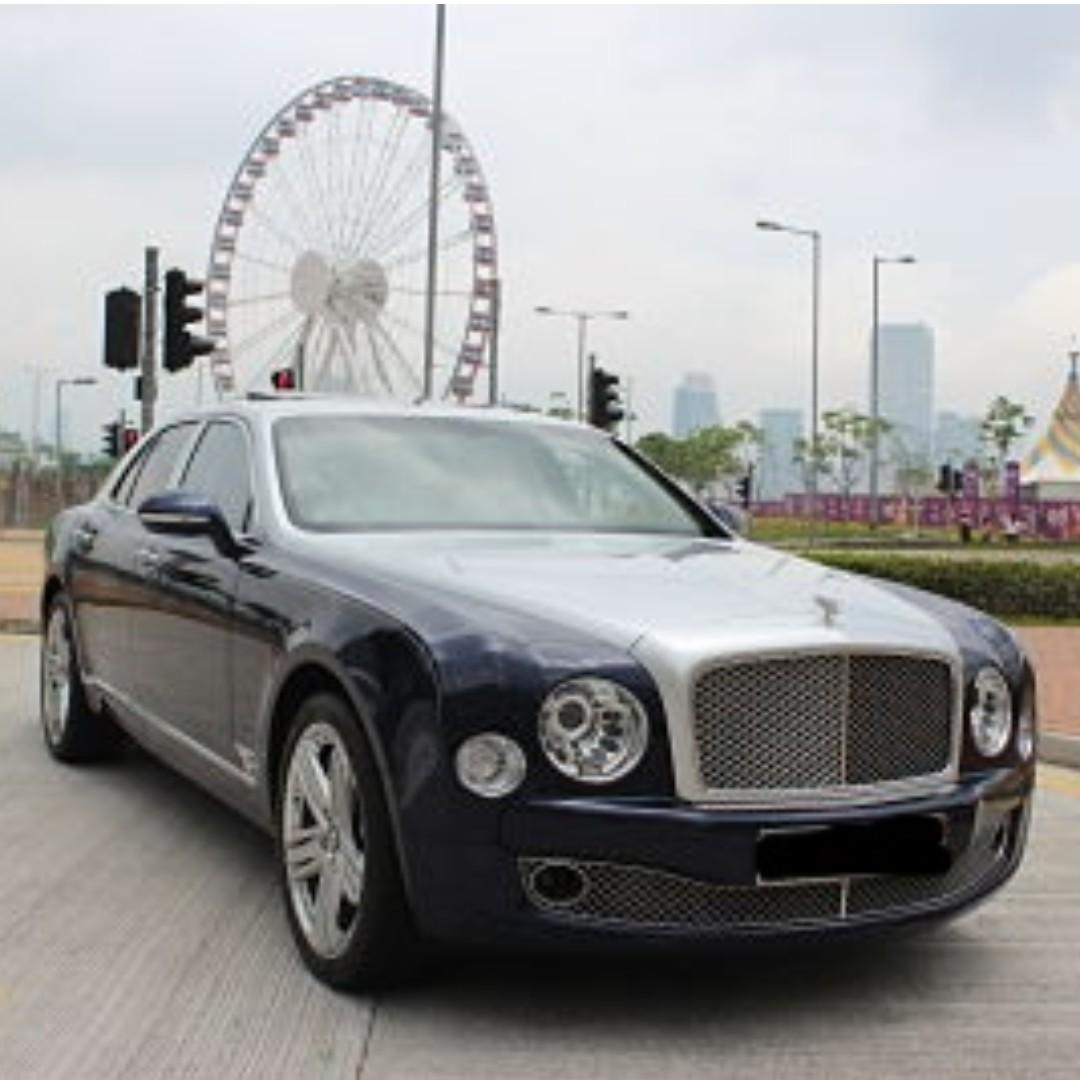 BENTLEY MULSANNE V8 2015
