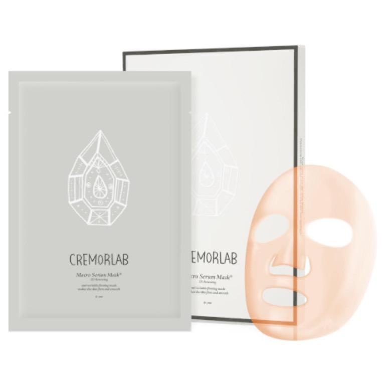 Cremorlab 3D Renewing Macro Serum Mask - 4 sheets RRP$64