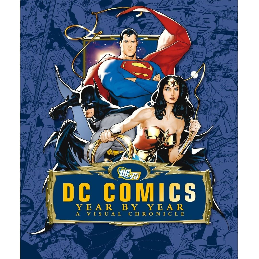 DC Comics A Year By Year Visual Chronicle Hardcover Boxed Edition