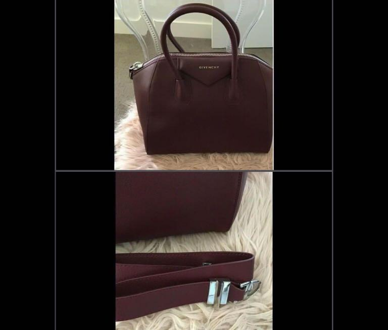 Givenchy antigona large size grain leather handbag