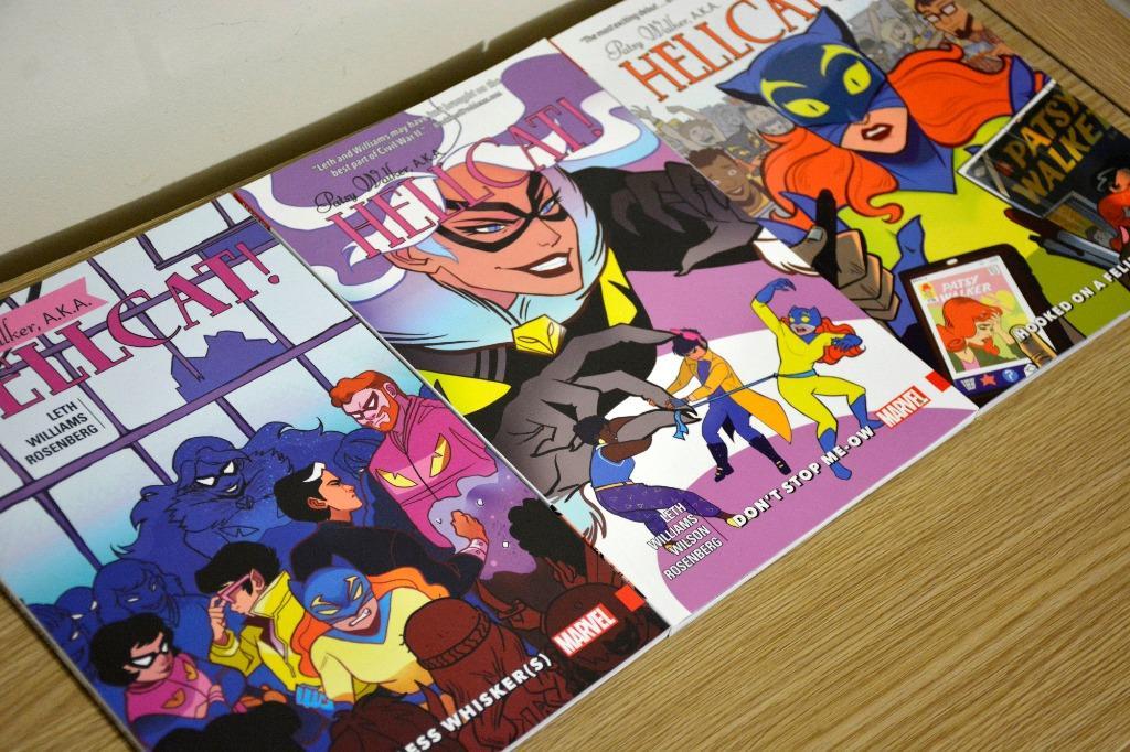 Hellcat! (Patsy Walker) Comic Books Volumes 1-3 Marvel
