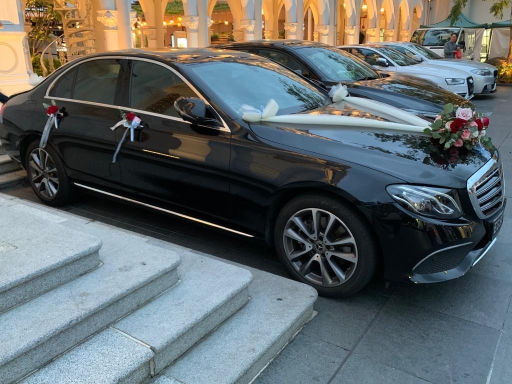 Wedding Car Mercedes-Benz E200