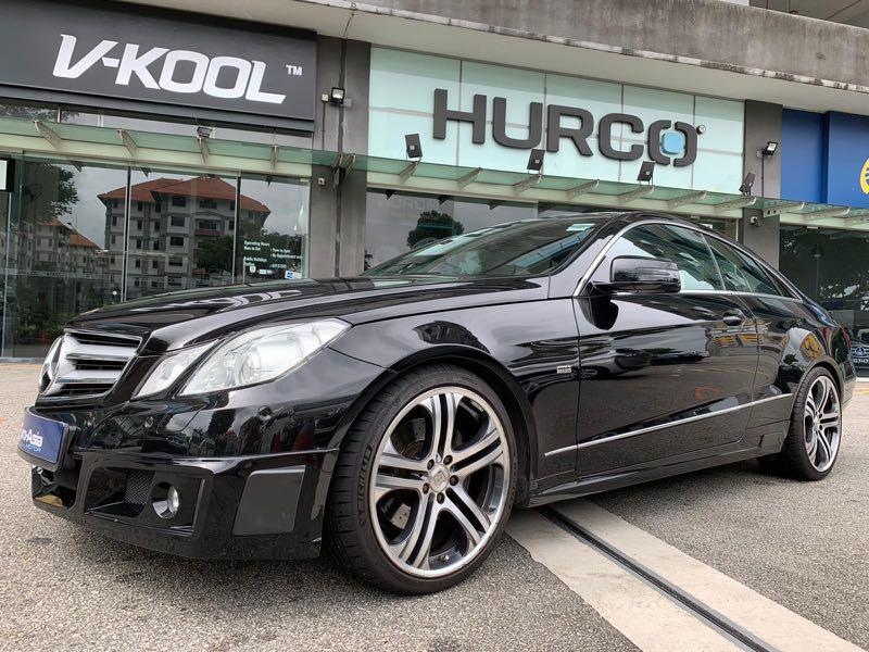 Mercedes-Benz E250 Mercedes Benz E250 CGI Coupe Brabus (New 10 Years COE) Auto