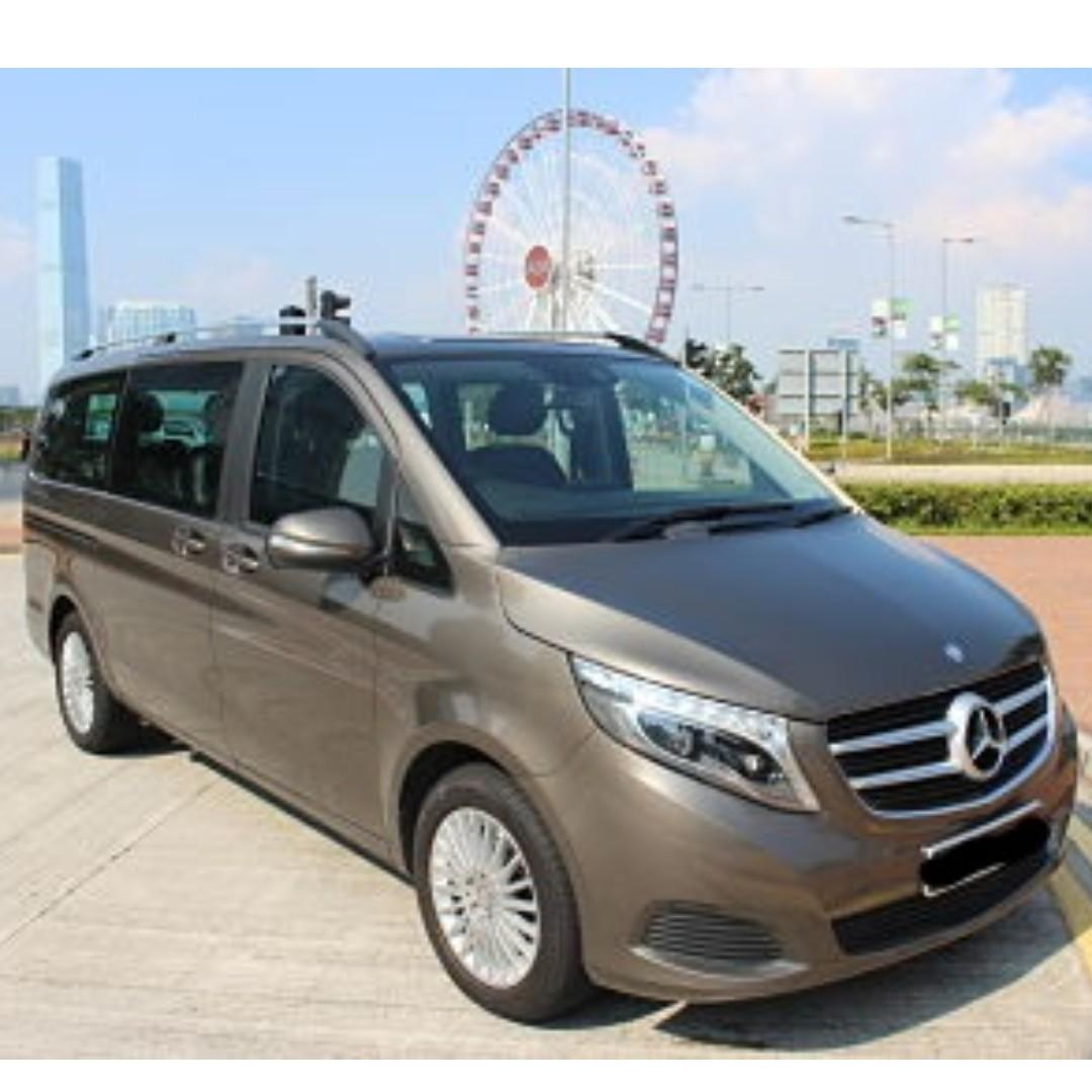 MERCEDES-BENZ V250D LONG 2015