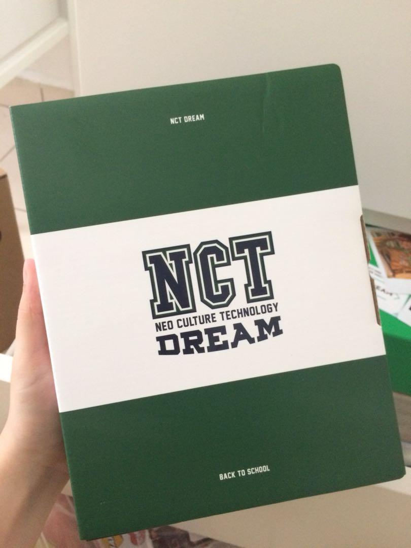 Nct dream back to school kit jisung full set withdrama pob(unsealed)